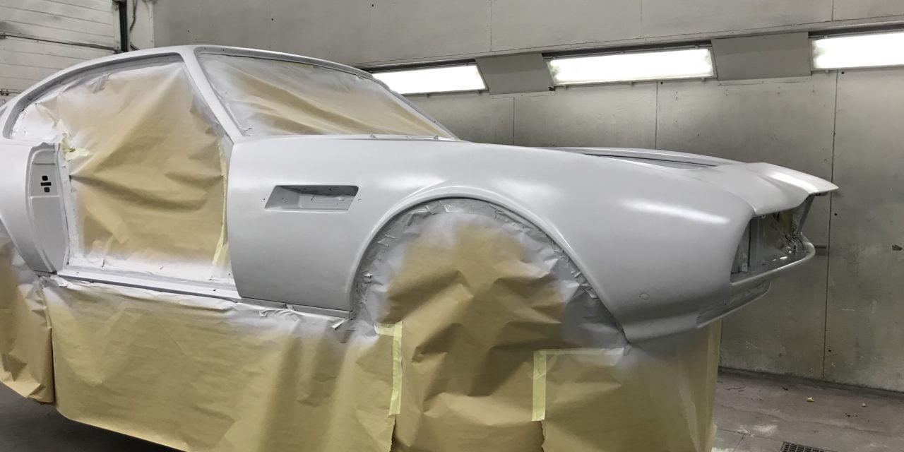 Aston Martin in de epoxy