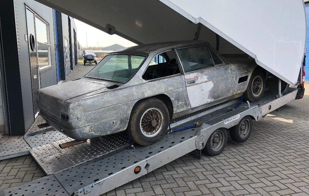 Maserati Mexico opgehaald voor restauratie