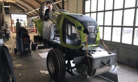 Beplating maken voor trekkertrek tractor