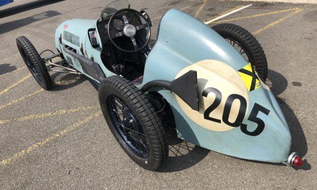 Austin Seven op Silverstone
