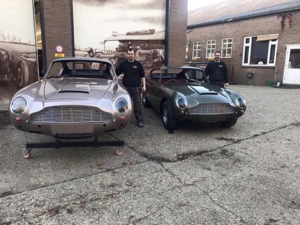 Aston Martin's DB6 klaar om afgeleverd te worden!