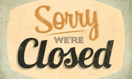 Wij zijn gesloten van 22-12-2018 t/m 02-01-2019