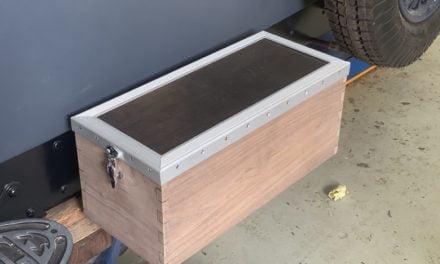 Kistje van de Delage is klaar