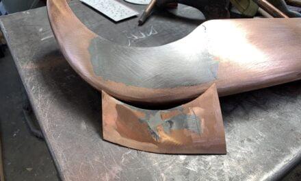 Bumpers repareren voor verchromen