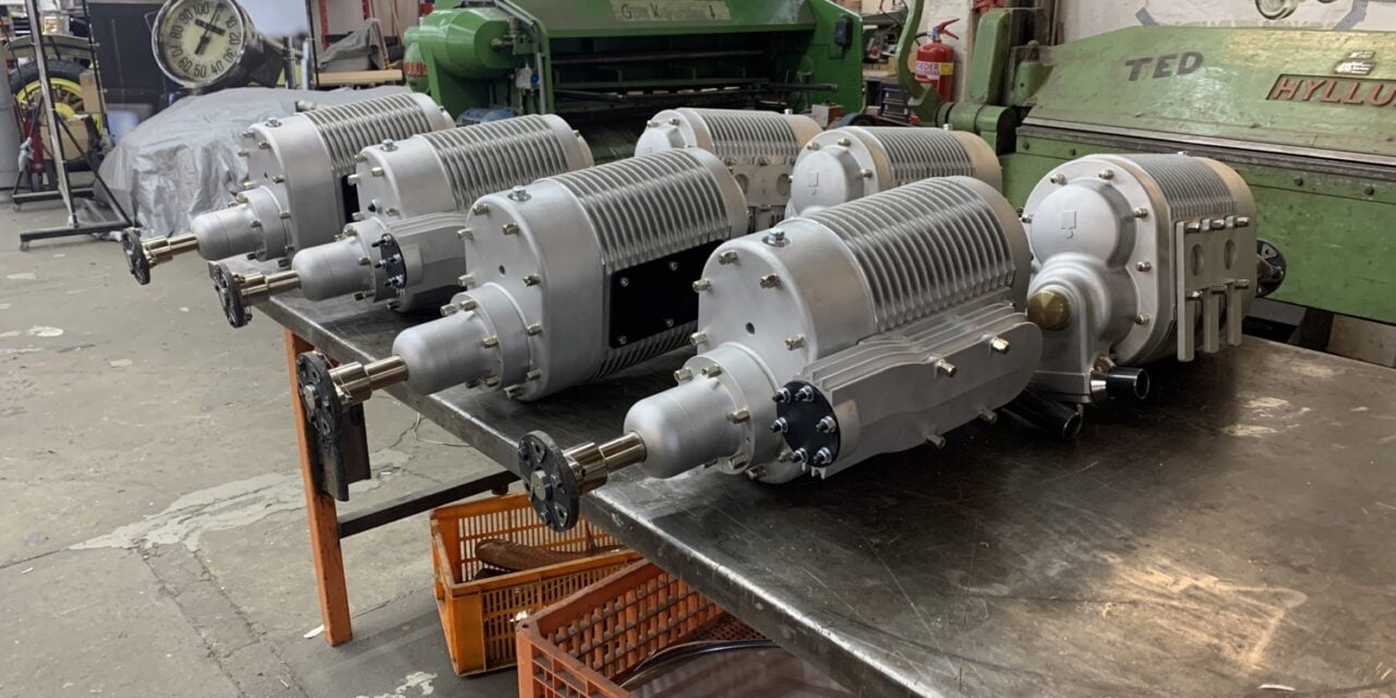 Bentley compressoren gefabriceerd en ontwikkeld.