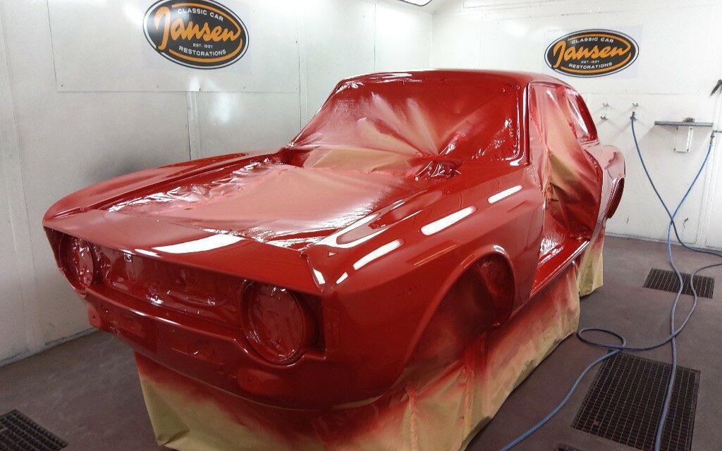 Alfa Romeo gespoten
