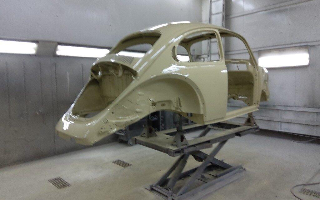 Volkswagen Kever in de epoxy
