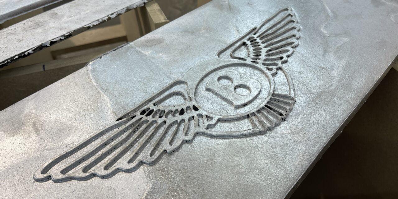 Aluminium schutbord voor de Bentley